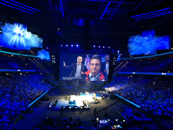 Iris at Microsoft Worldwide Partner Conference 2014